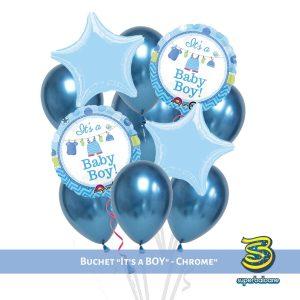 Baloane botez baietel l Baloane cu heliu